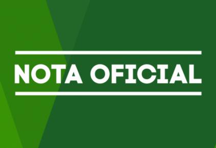 NOTA OFICIAL SOBRE O PACTO REGIONAL DE ENFRENTAMENTO A COVID-19.